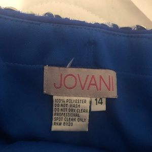 Jovani Dresses - Royal Blue Jovani Dress